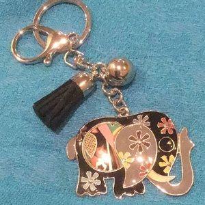 Elephant Key Fob Or Purse Charm